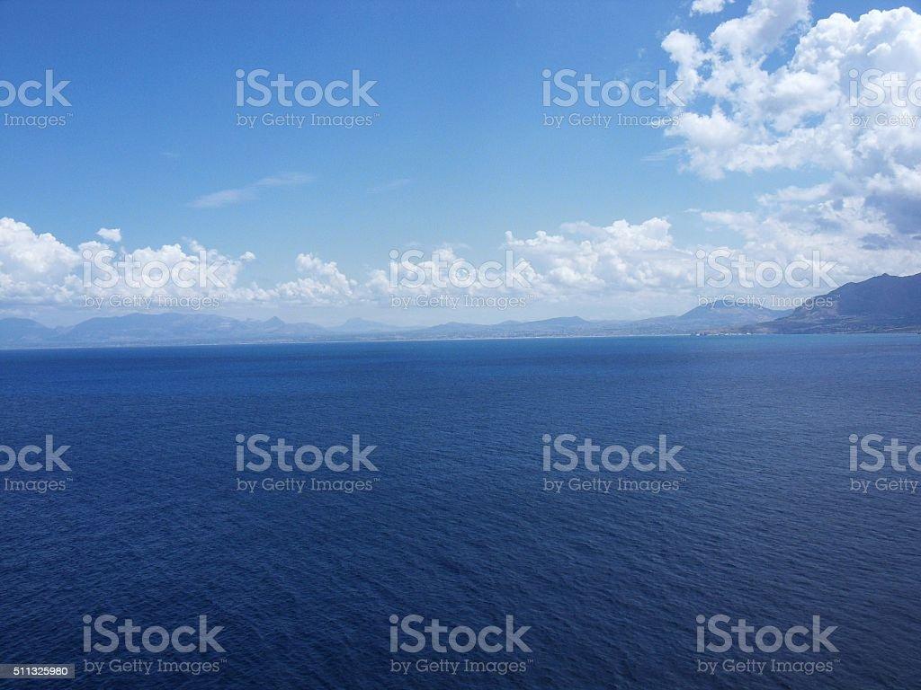 Mare di Sicilia stock photo