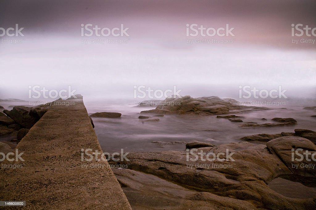 mare e nebbia royalty-free stock photo