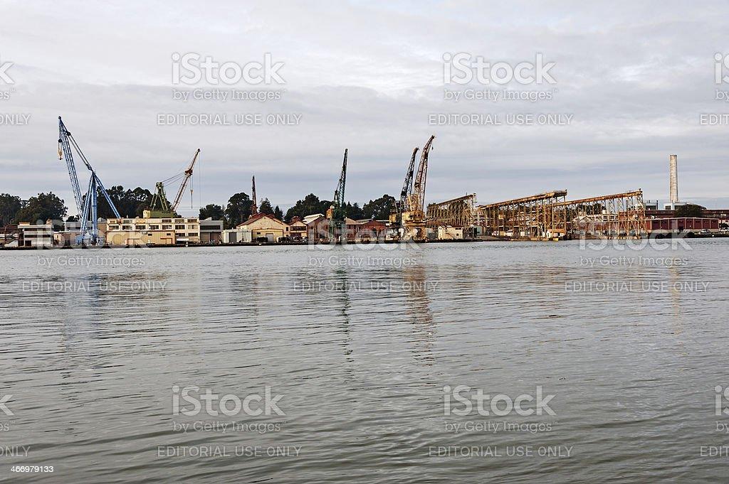 Mare Island Shipyard stock photo