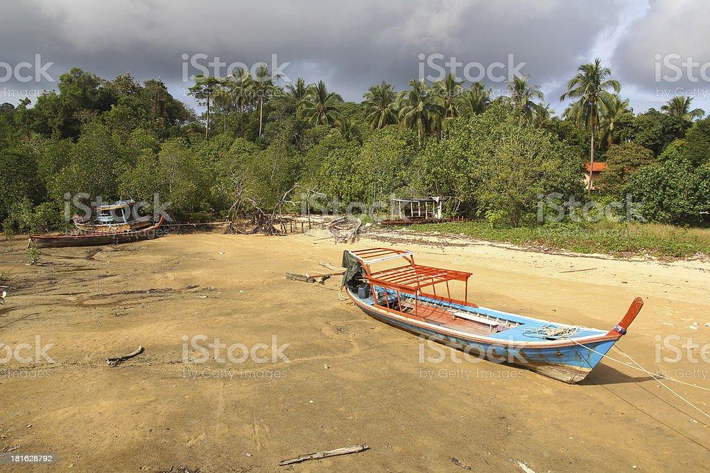 marea baja stock photo