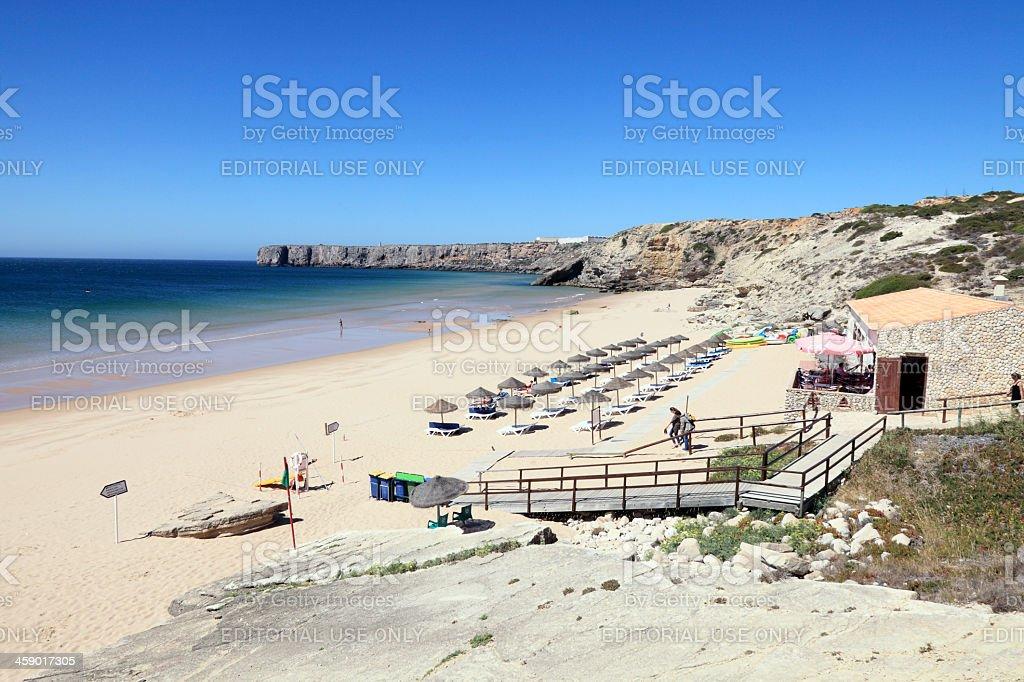 Mareta beach stock photo