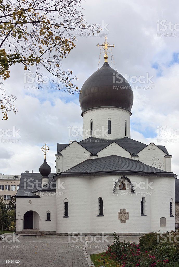 Marfo-Mariinsky Convent, Moscow royalty-free stock photo