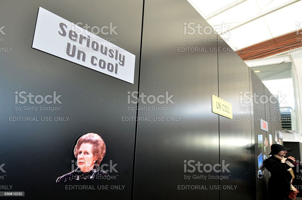 Margaret Thatcher stock photo