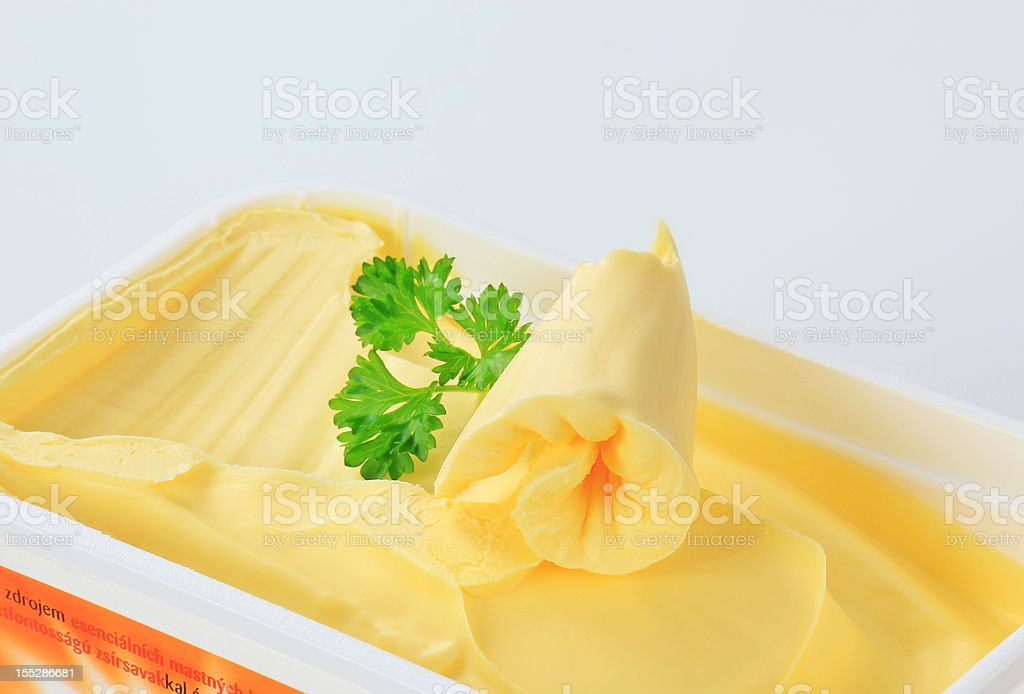 Margarine stock photo