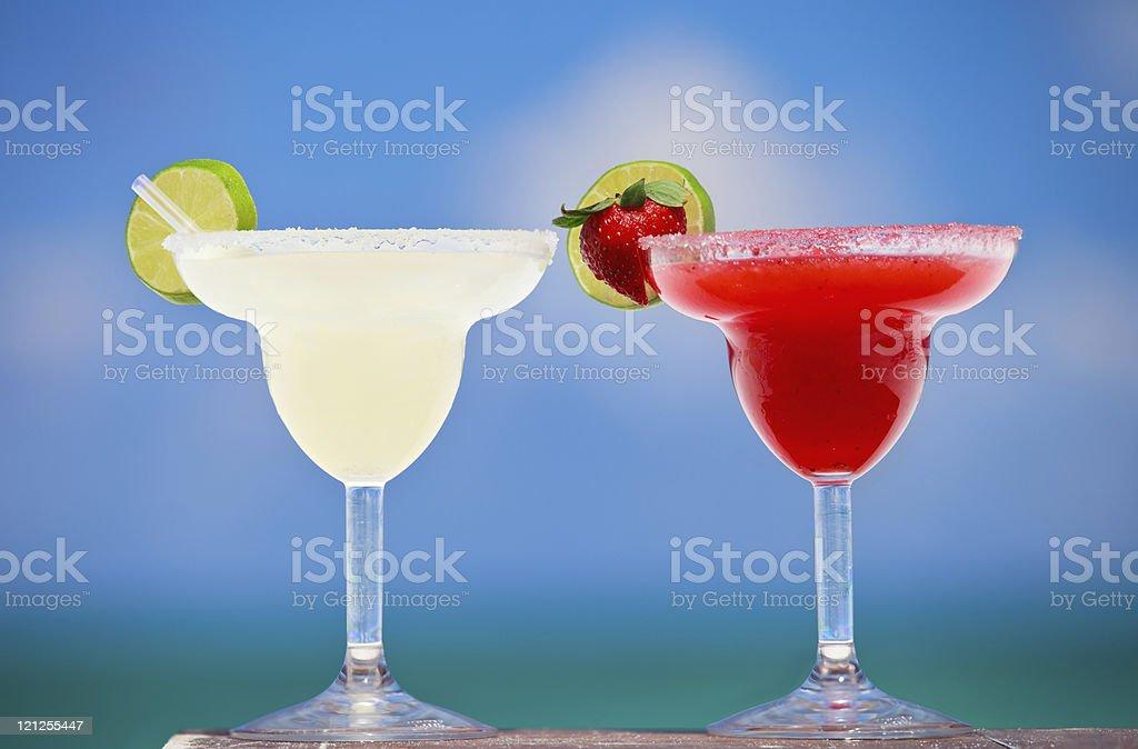 Margarita cocktails stock photo
