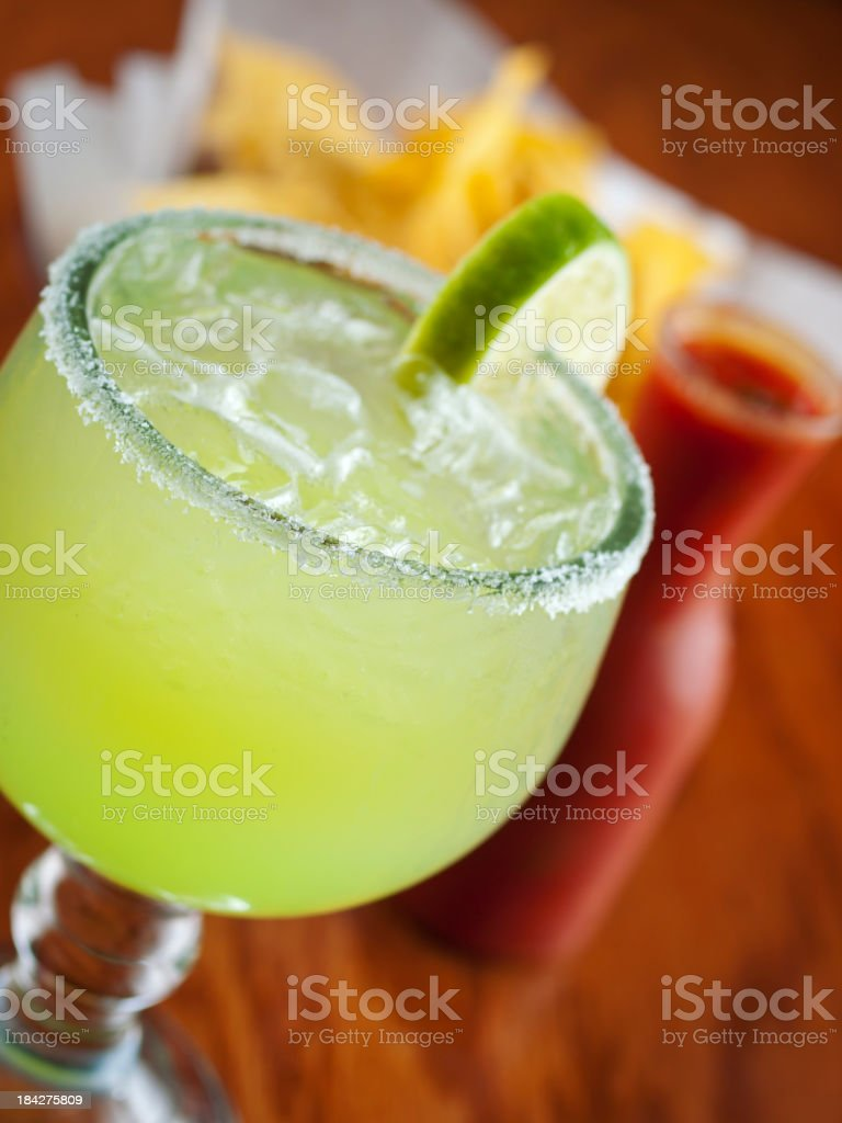 Margarita Lime stock photo