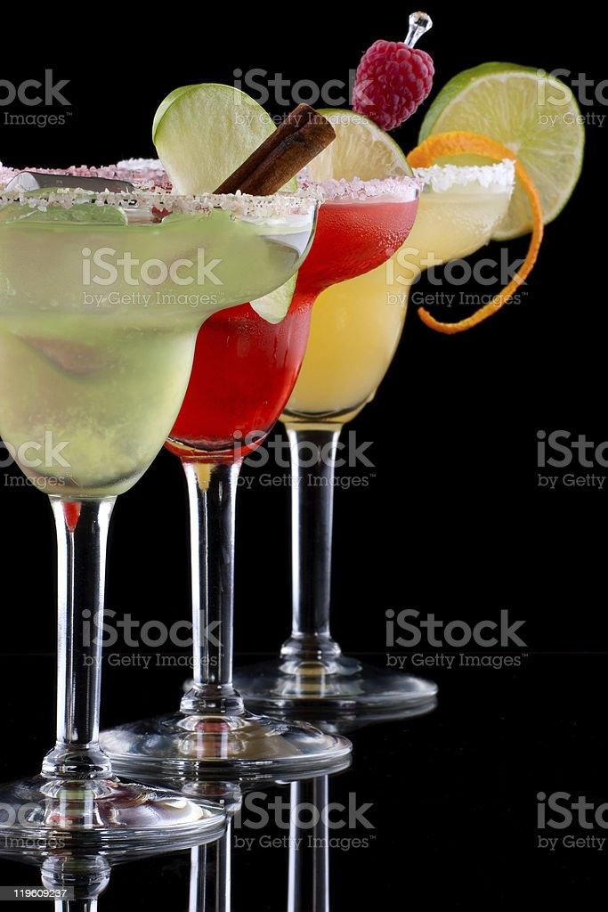 Margaritas  - Most popular cocktails series royalty-free stock photo