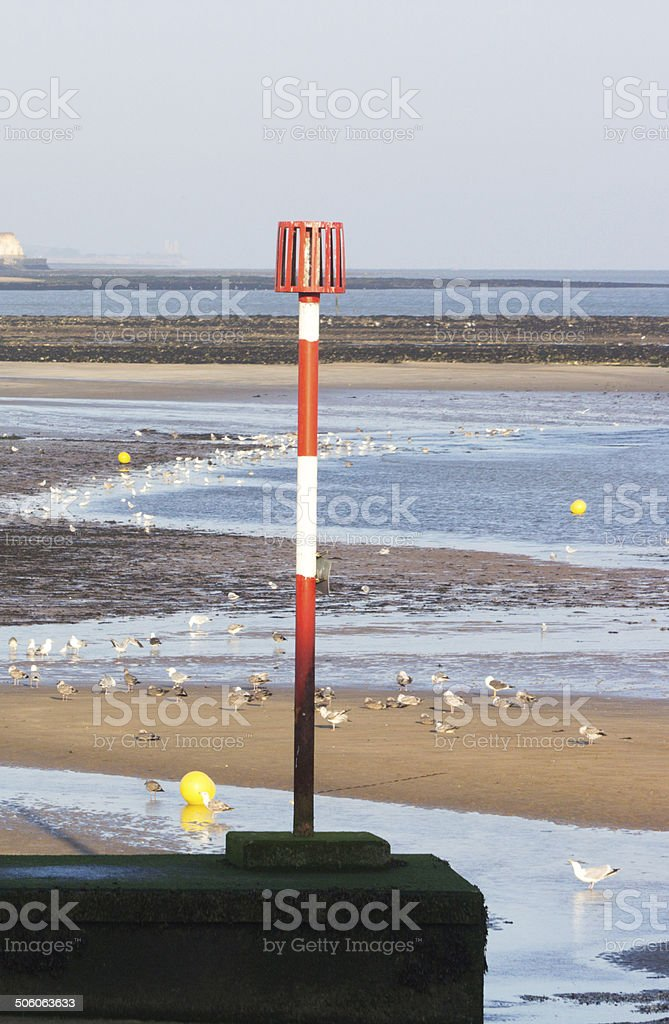 Margate Beach in Kent, England royalty-free stock photo