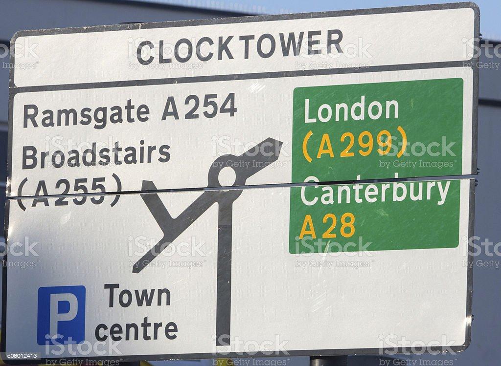 Margate Clocktower in Kent, England royalty-free stock photo