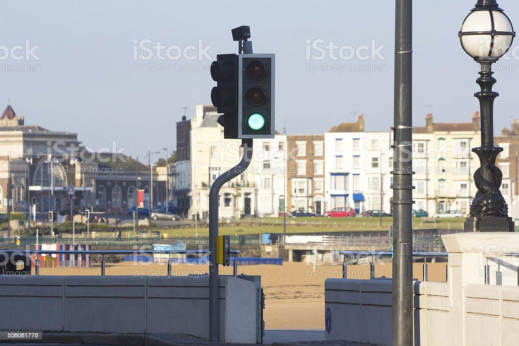 Margate in Kent, England royalty-free stock photo