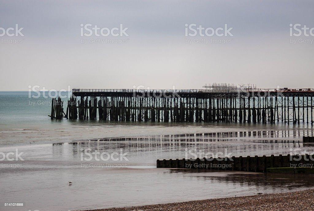 Margate Pier stock photo