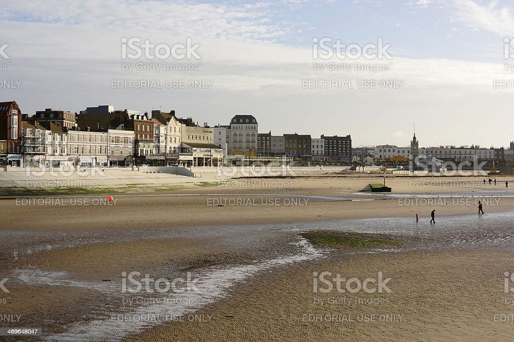 Margate seafront. Kent. England stock photo