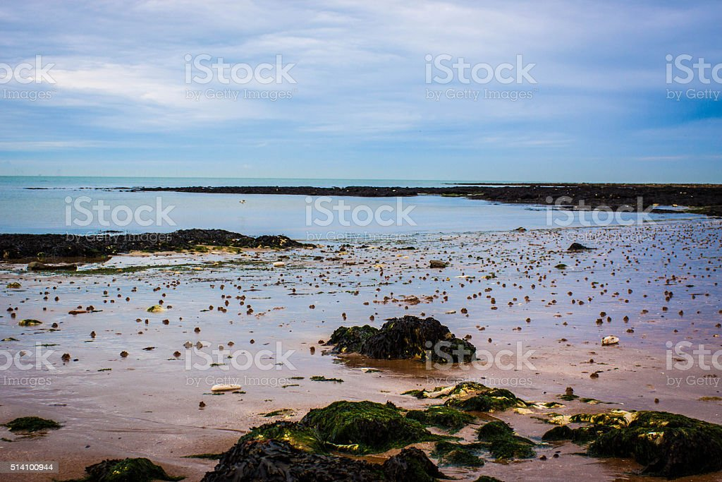 Margate Seascape stock photo