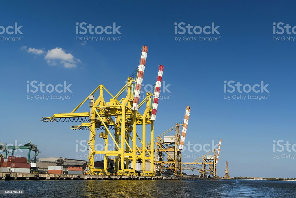 Marghera industrial zone royalty-free stock photo