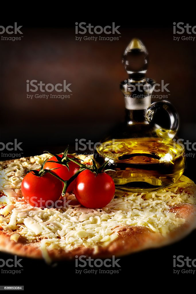 Margherita Pizza stock photo