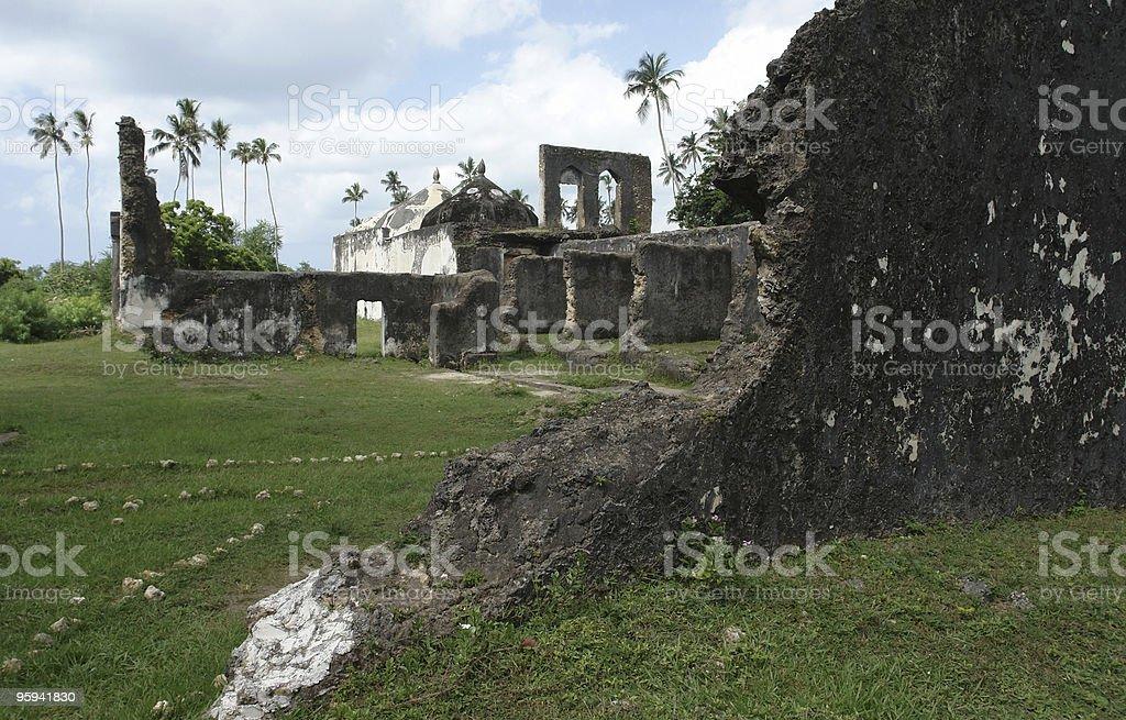 Marhubi Palace stock photo