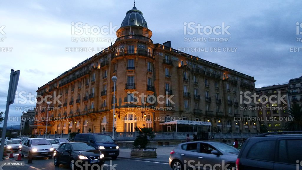 Maria Cristina hotel stock photo