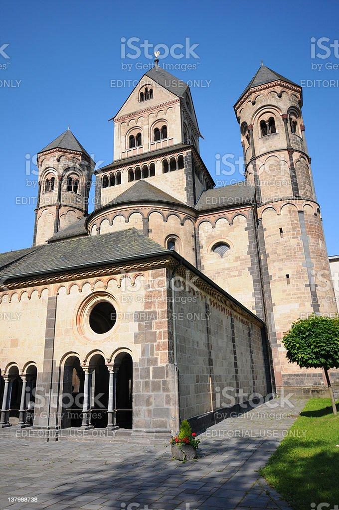 Maria Laach Abbey - Abtei royalty-free stock photo