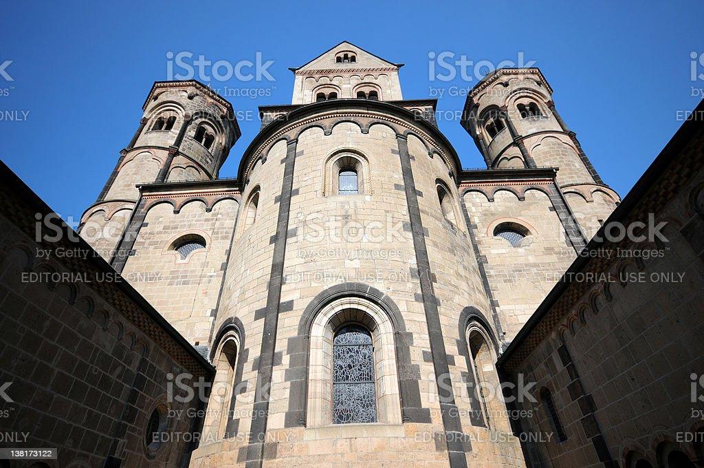 Maria Laach Abbey - Abtei stock photo