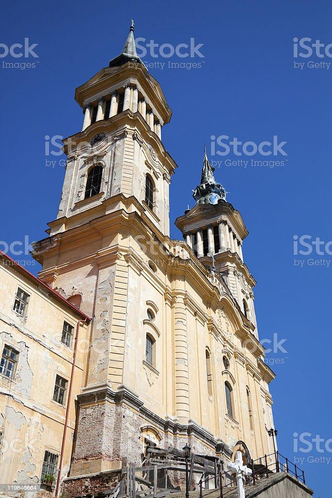 Maria Radna Franciscan Monastery royalty-free stock photo