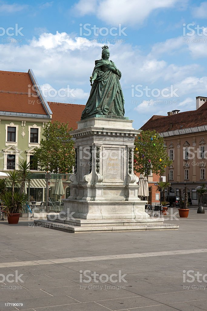 Maria Theresia landmark royalty-free stock photo