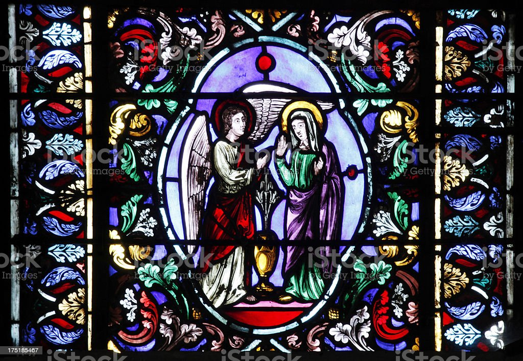 Maria Window stock photo