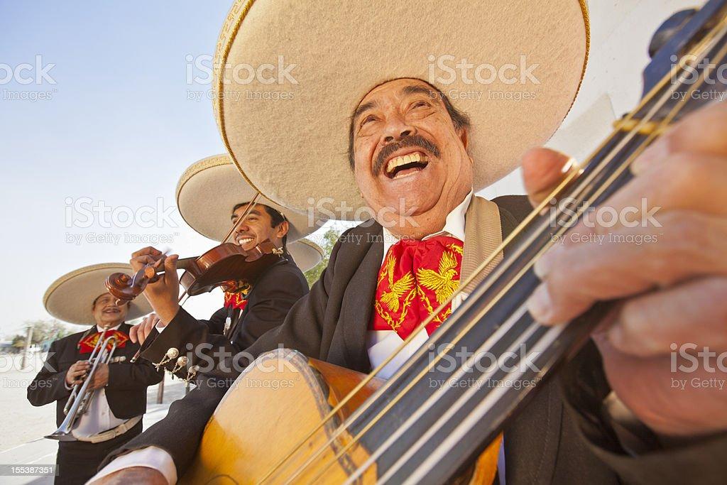 Mariachi Band stock photo