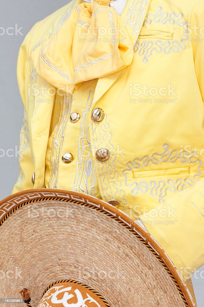 Mariachi closeup stock photo