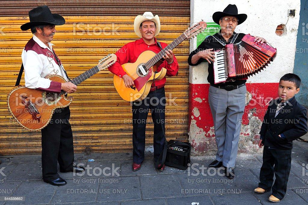 Mariachi in Mexico City stock photo