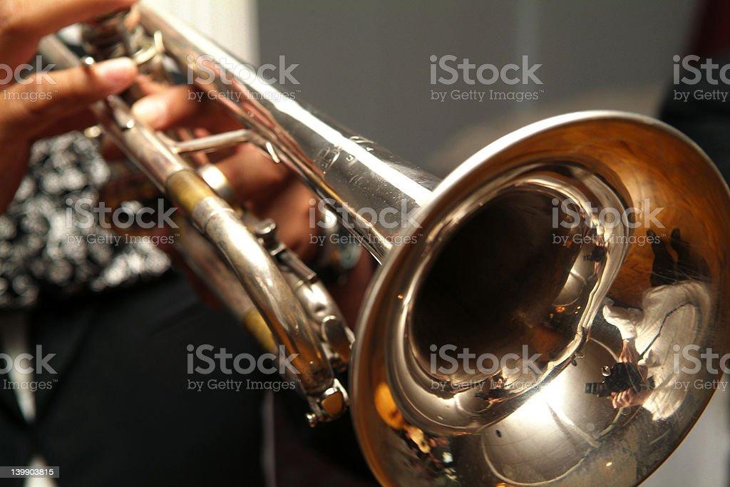 Mariachi Trumpet royalty-free stock photo
