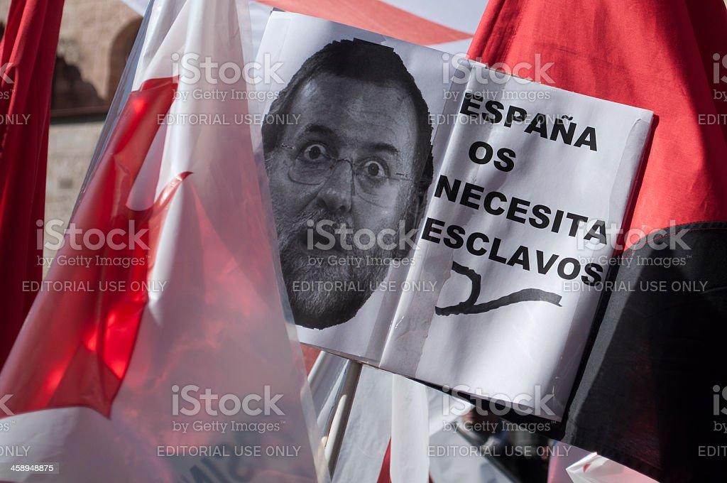 Mariano Rajoy stock photo