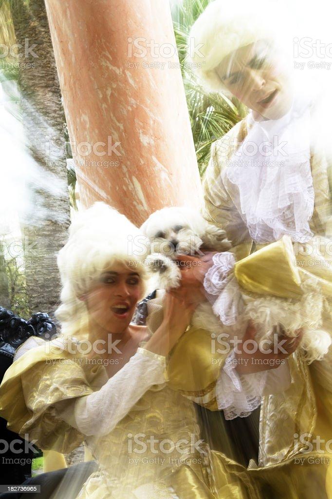 Marie Antoinette stock photo