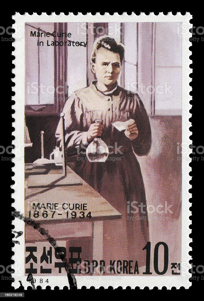 Marie Curie (XXLarge) royalty-free stock photo