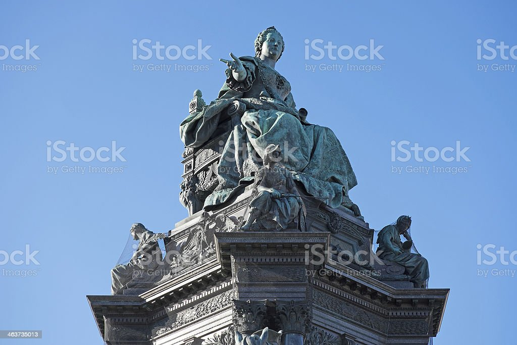 Marie Therese royalty-free stock photo