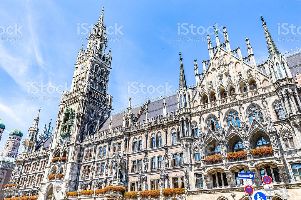 Marienplatz - Munich, Germany stock photo
