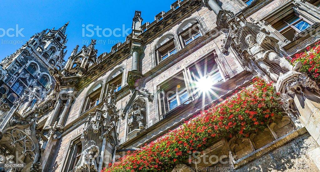 Marienplatz, Munich, Germany stock photo