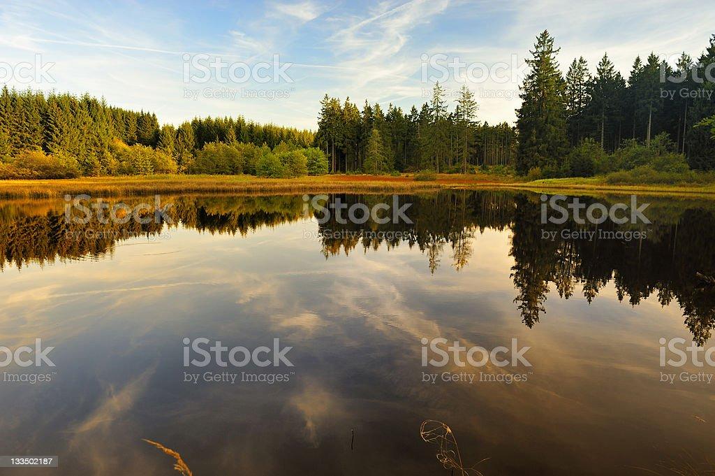 Marienteich in Harz,Germany stock photo