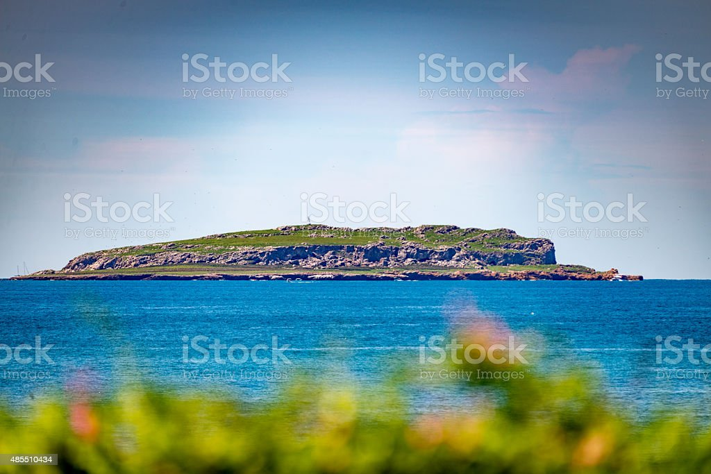 Marietas island stock photo
