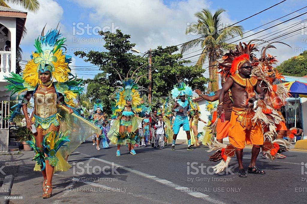 Marigot Carnival 2015 - 8 stock photo