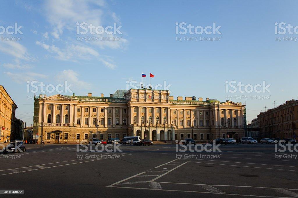 Mariinsky Palace stock photo