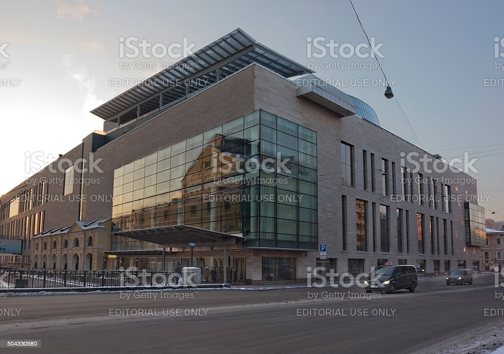 Mariinsky Theatre Second Stage Entrance stock photo