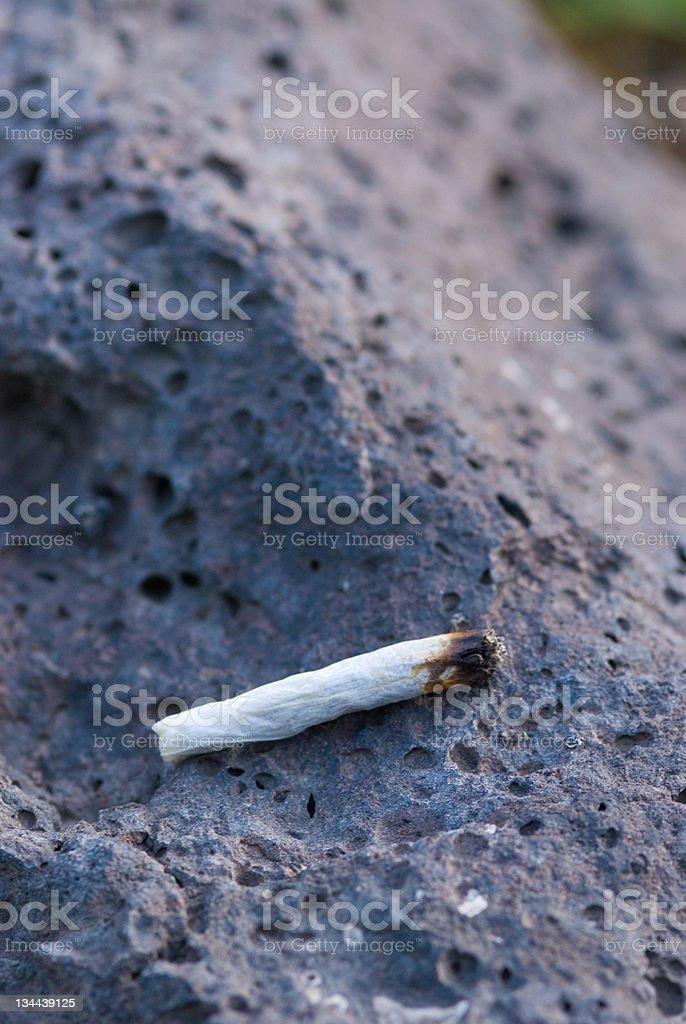 Marijuana Cigarette Joint royalty-free stock photo