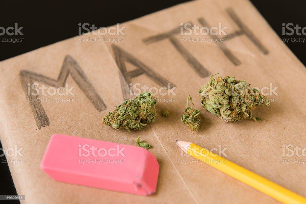 Marijuana in School stock photo