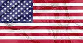 marijuana in USA Flag