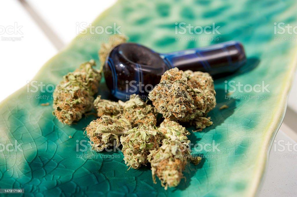 Marijuana royalty-free stock photo
