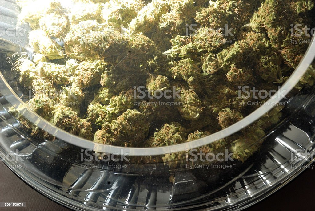 Marijuana Pie stock photo