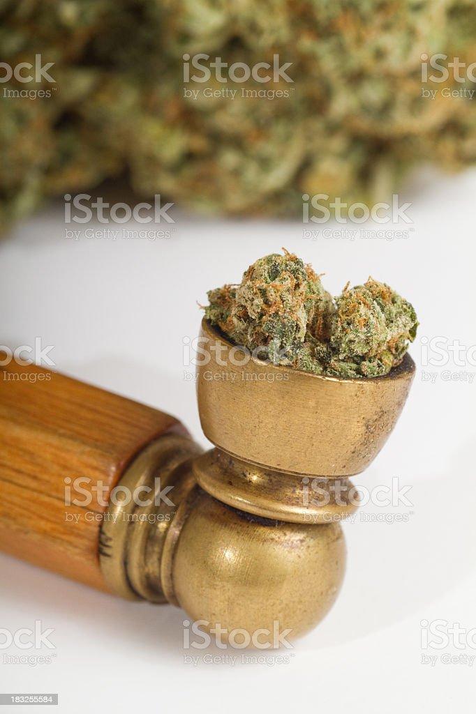 Marijuana Pipe stock photo