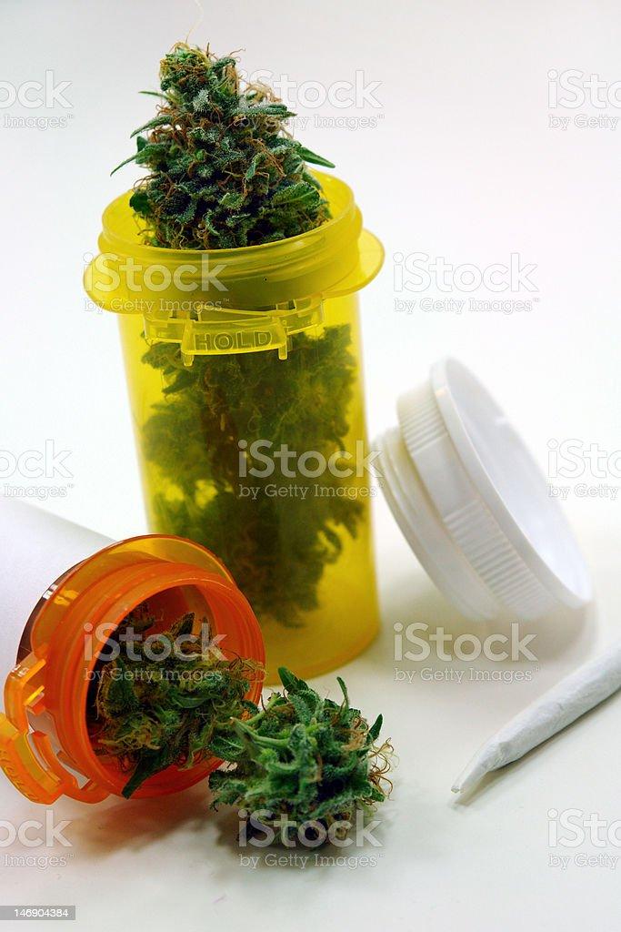 marijuana prescription royalty-free stock photo