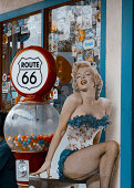 Marilyn Monroe on Route 66
