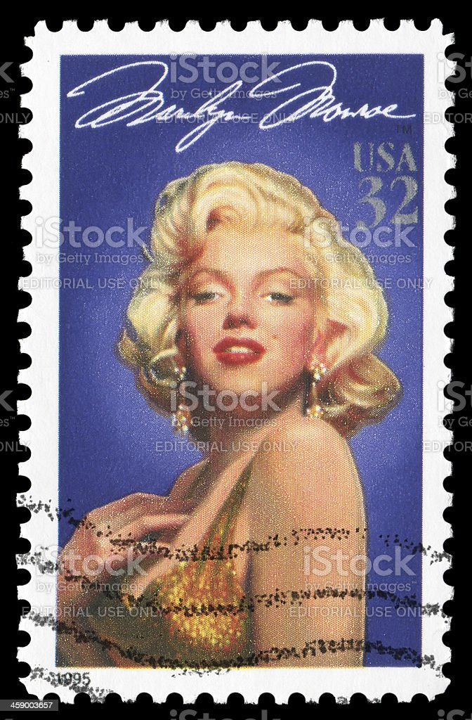 Marilyn Monroe (XXLarge) stock photo